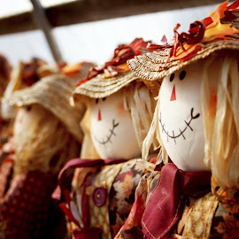 Straw Poll by Robin Seaholm - Artistic Objects Other Objects ( doll, fall, farm, autumn, straw, creepy, decoration, scarecrow )