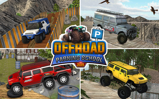 Off road Jeep Parking Simulator: Car Driving Games 1.4 screenshots 8