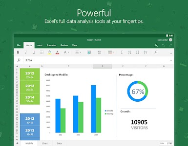 Microsoft Excel v16.0.7507.1000 beta