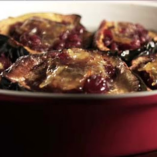 Loring Barnes' Acorn Squash Stuffed with Cranberries