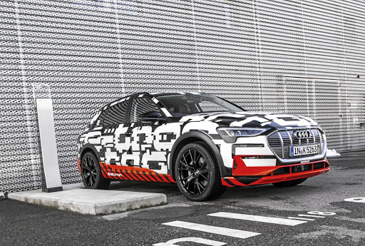 Audi has postponed the launch of its E-Tron all-electric SUV in the wake of the arrest of its CEO. Picture: AUDI