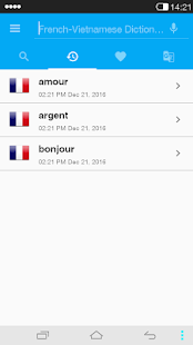 French<->Vietnamese Dictionary- screenshot thumbnail