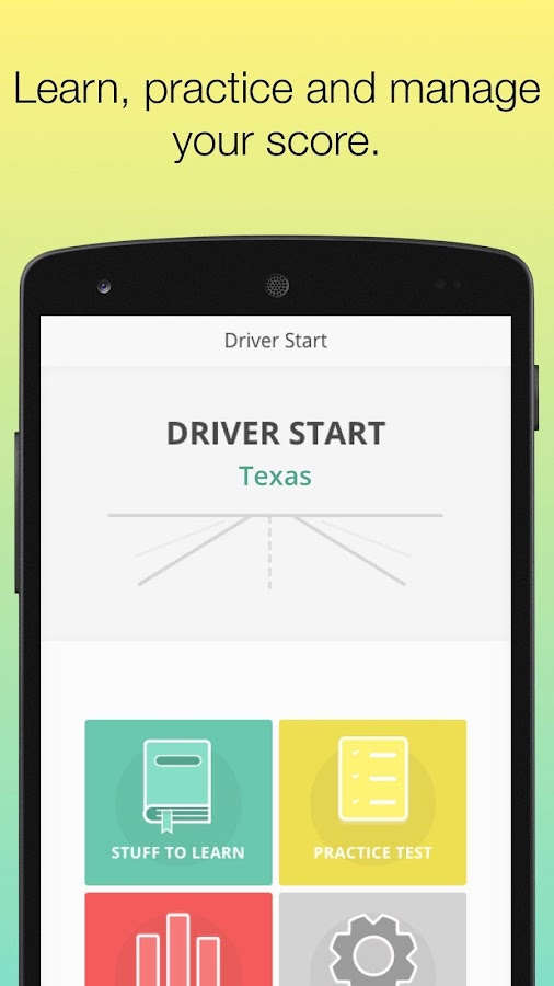 Permit Test Texas TX DMV  Driver License knowledge- screenshot