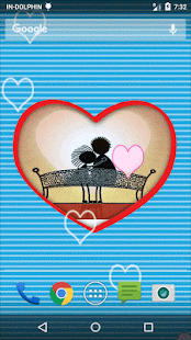 Valentine Frame Live Wallpaper- screenshot thumbnail