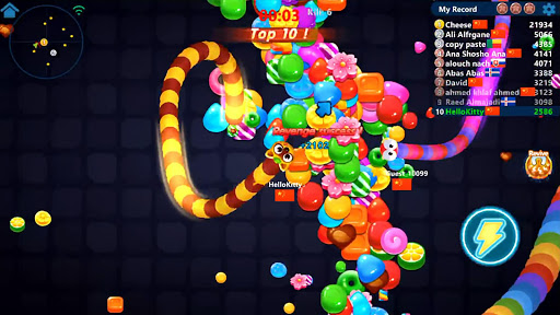 Snake Candy.IO - Real-time Multiplayer Snake Game 3189.3.6.4 screenshots 12