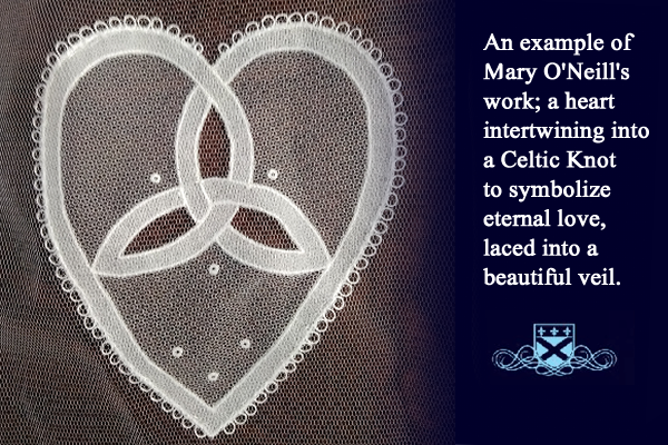 Fitzpatrick's Veils of Ireland and Lace Gallery Celtic Knot