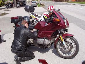 "Photo: Na ja Na ja BMW ist nun mal nicht "" das "" Bike"