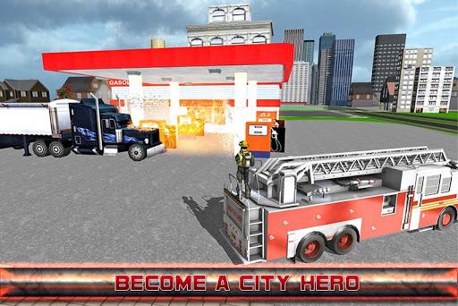 市消防トラック