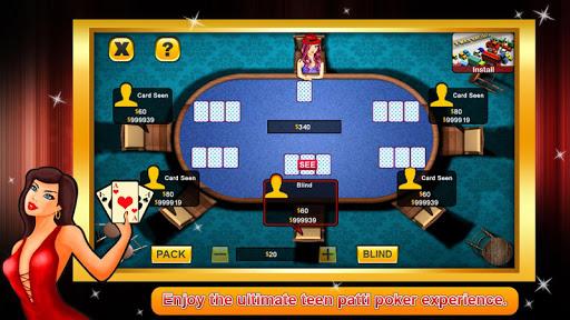 Teen Patti poker offline 1.0.6 7