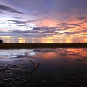 Sunset time  by Edwin Yepese - Landscapes Sunsets & Sunrises ( sunset, landscape photography, sunrise )