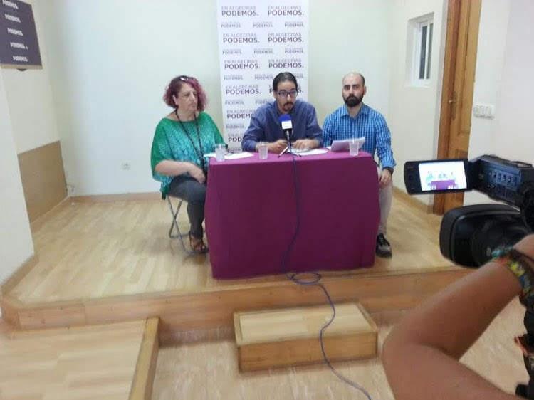 La candidatura de Alejandro Gallardo optiene el 91,49% de los votos de los inscritos en Podemos Algeciras