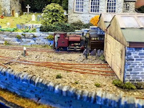 Photo: 008 Another shot across the station throat at Rod Allcock's award winning Corris 1930