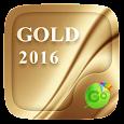 Gold 2016 GO Keyboard Theme
