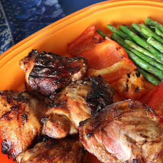 Grilled Ginger & Pineapple Herb Chicken.