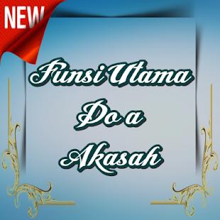 FUNSI UTAMA DO'A AKASAH - náhled