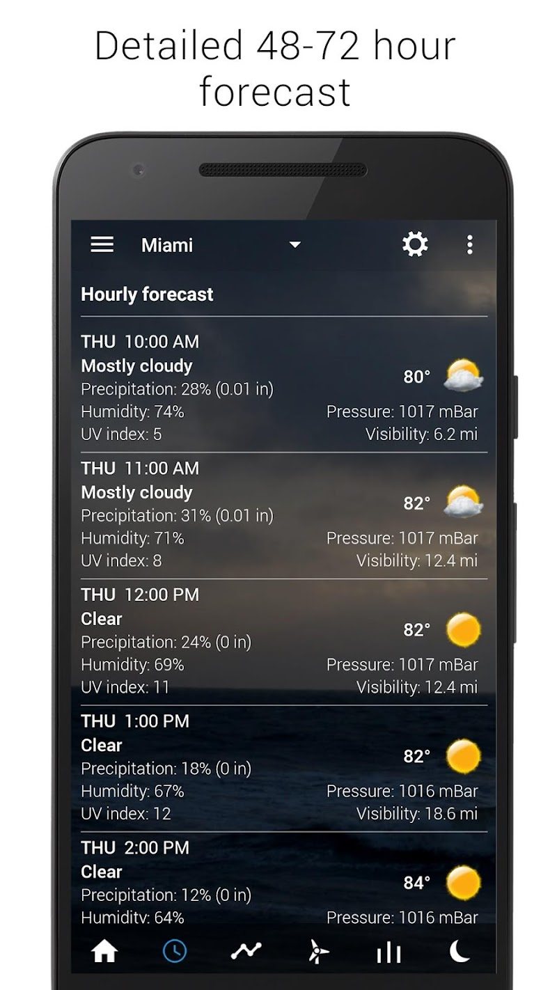 Sense Flip Clock & Weather (Ad-free) Screenshot 6