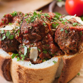 Slow Cooker Italian Meatballs.