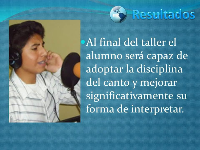 RESULTADOS GIMNASIA VOCAL