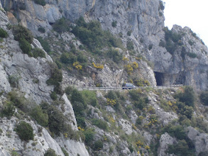 Photo: Tunnels above Greolieres