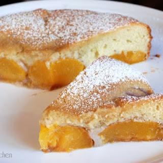 JAMIE OLIVER'S FRESH PEACH PUDDING CAKE Recipe