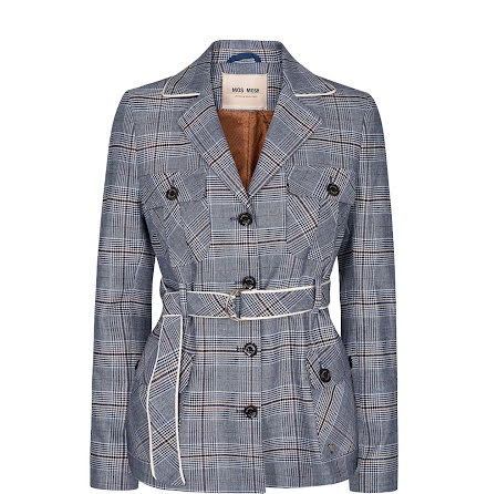 Mos Mosh Riva Chester Jacket Blue