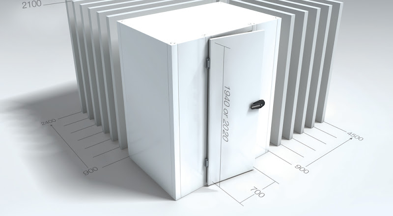 Koelcel MVL BXLXH 300x360x194 cm