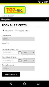 707 Bus Ticket screenshot 0