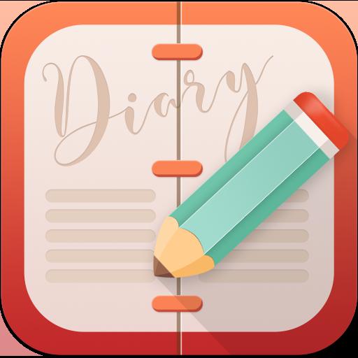 Diary 365:Journal - Diary with Lock - Mood Tracker
