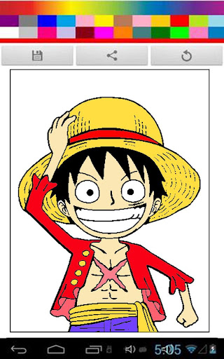 One Piece Coloring Kids
