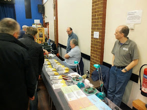 Photo: 007Meridian Models were also present with a comprehensive sales stand .