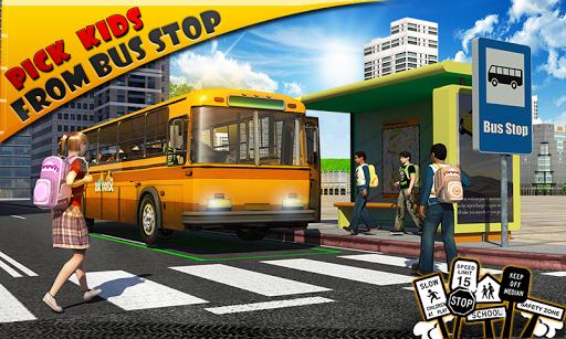 Schoolbus Driver 3D SIM Screenshot