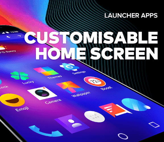Bling Launcher - Live Wallpapers & Themes Android App Screenshot