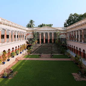 RAJBARI DAY by Anup Kumar Adhikari - Buildings & Architecture Architectural Detail