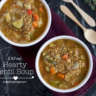 'Hearty' Lentil Soup Recipe