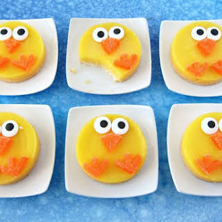 Lemon Bar Easter Chicks.