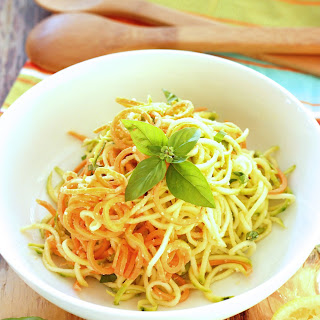 Lemon Parmesan Zucchini Noodles Recipe