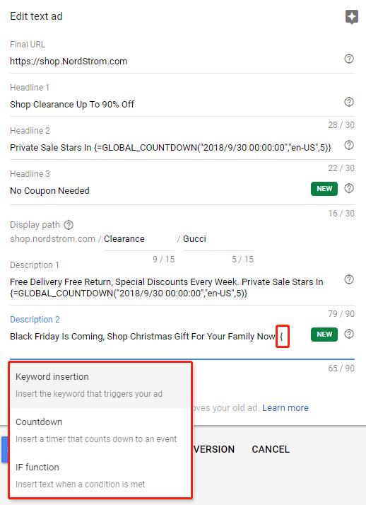 CenterRock - Google Ads Functions