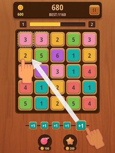 Mergezilla - Number Puzzle apktram screenshots 9