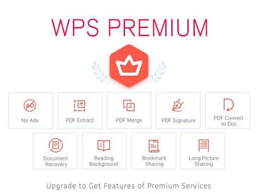 WPS Office + PDF Screenshot
