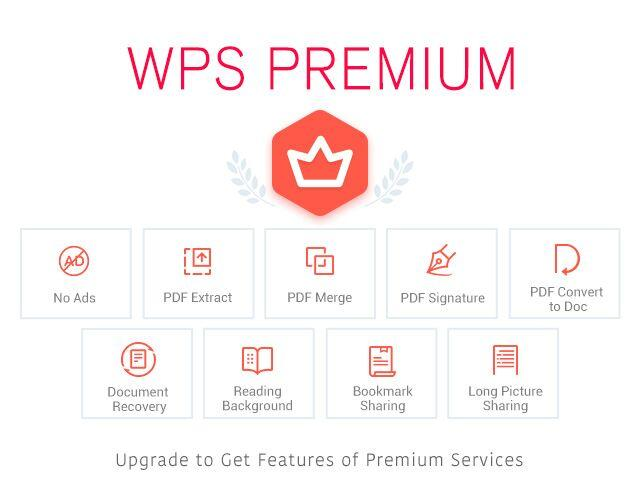 WPS Office - Word, Docs, PDF, Note, Slide & Sheet– captură de ecran