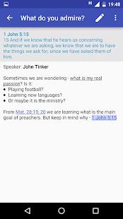 Notepad JW - náhled