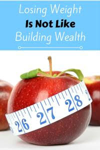 Losing Weight is Not Like Building Wealth thumbnail