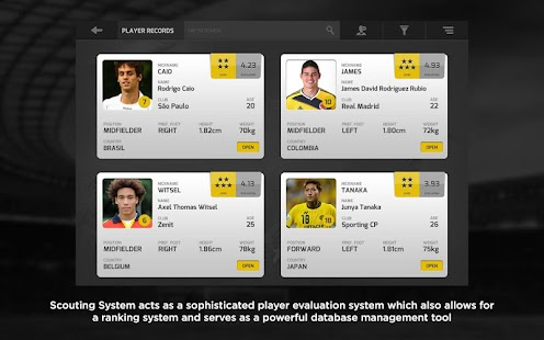 Cal South Scouting System Pro - náhled