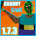 Horror Granny CRAFT 1.7.3 - Scary Game Mod icon