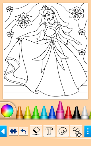Princess Coloring Game screenshots 4