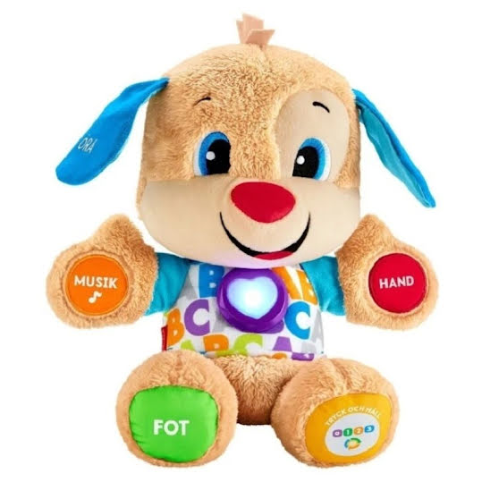 Fisher-Price Laugh & Learn Smart Stages Puppy (Finsk tal)