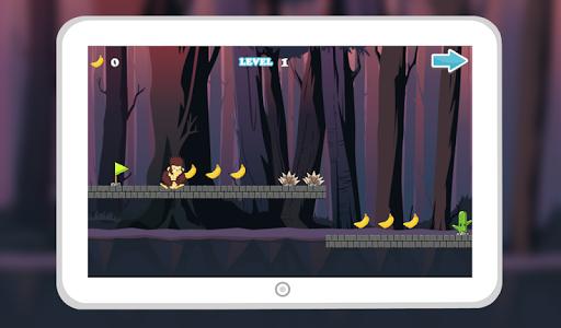 Monkey Jungle Run Dash screenshot 1