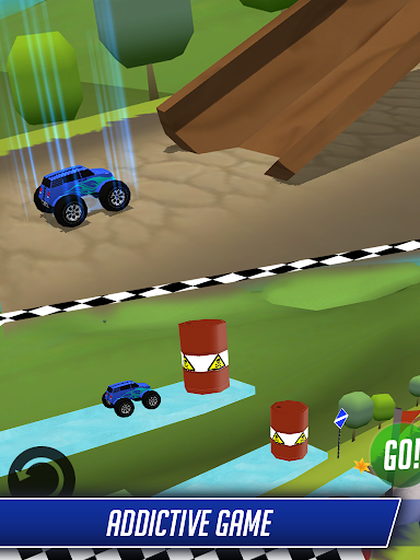 Monster Car Offroad Stunt Race