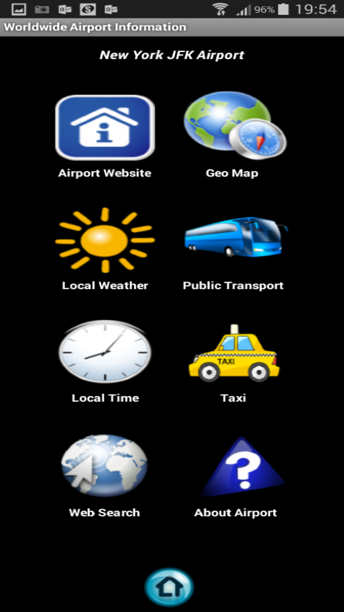 Worldwide Airport Information+- screenshot