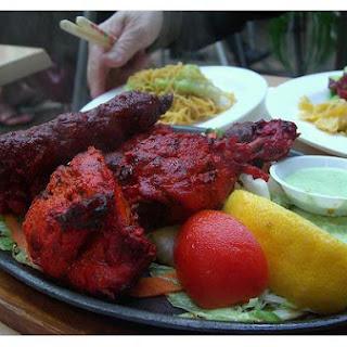 Indian Tikka Chicken.